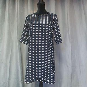 Gap 3/4 Sleeve Teacup Dress size Xs